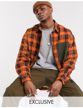 Reclaimed Vintage Check Shirt by Reclaimed Vintage Inspired