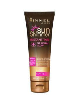 Rimmel Sunshimmer Instant Tan With Gradual Glow Light Matte by Rimmel