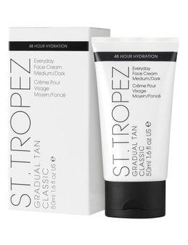 St.Tropez Everyday Gradual Tan Face Medium/Dark 50ml by St Tropez