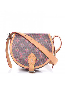 Louis Vuitton Monogram Damier Pop Print Tambourin Rose by Louis Vuitton