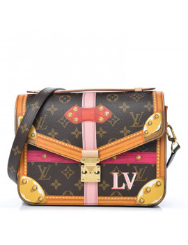 Louis Vuitton Monogram Summer Trunks Pochette Metis by Louis Vuitton