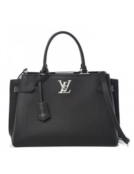 Louis Vuitton Calfskin Lockme Day Black by Louis Vuitton