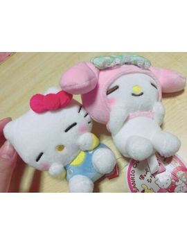 Sanrio Characters Hello Kitty My Melody Plush Doll Hoppe Hold Series Japan New by Sanrio