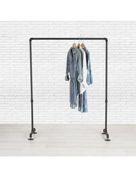 Clothes Rack | Clothing Rack | Industrial Pipe Clothing Rack 39"