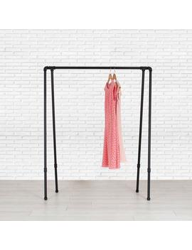 Clothing Rack | Clothes Rack | Garment Rack | Clothing Storage | Industrial Pipe Clothing Rack | Pipe Closet Organizer | Fast Free Shipping! by Etsy