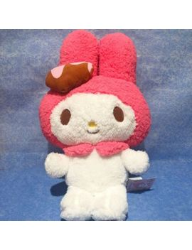 My Melody Big Plush Doll Sanrio Chocolate Color Fu Ryu Prize Heart H42cm Japan by Sanrio