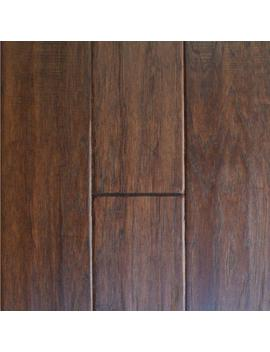 Handscrape Hickory Cocoa 3/4 In. Thick X 4 In. Width X Random Length Solid Real Wood Flooring 21 Sq. Ft. / Case by Millstead