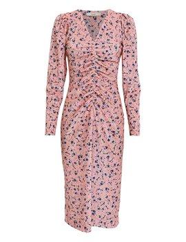 Sigrid Floral Velvet Dress by Brøgger