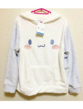 Sanrio Cinnamoroll Costume Fluffy Hoodie Pajama Wear Size L Off White Japan New by Sanrio