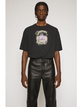 Summer Solstice T Shirt Black by Acne Studios