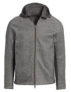 Tournon Prince Of Wales Cashmere & Silk Check Jacket by Loro Piana