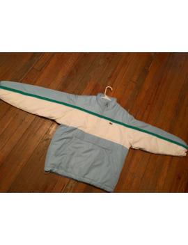 Supreme Puffy Half Zip Pullover by Supreme  ×  Lacoste  ×