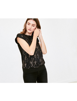 Lace Tee by Oasis
