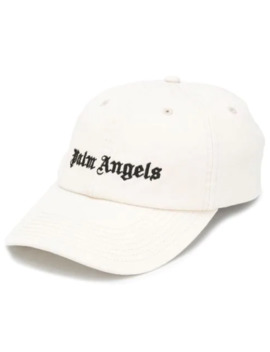 Embroidered Logo Cap by Palm Angels