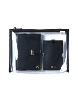 The Travel Set Passport Wallet, Pouch & Luggage Tag by BÉis