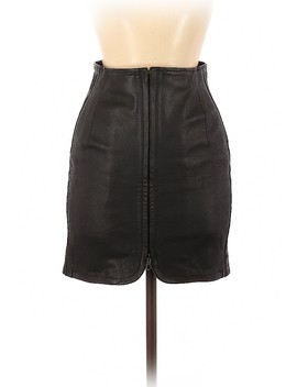 Leather Skirt by Moschino Cheap And Chic