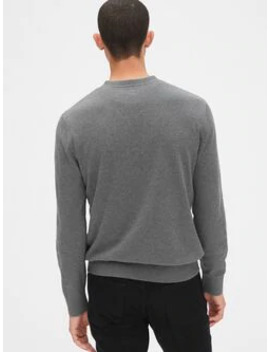 Mainstay V Neck Sweater by Gap