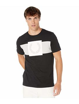 Printed Laurel Wreath T Shirt by Fred Perry