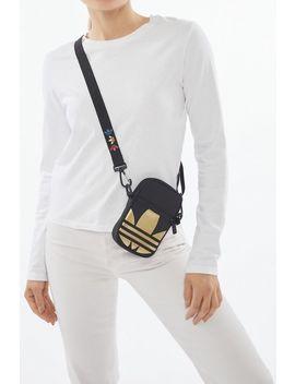 Adidas Originals Metallic Trefoil Festival Crossbody Bag by Adidas
