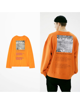 South Korean Fashion Hip Hop T Shirt Long Sleeve Men Skateboard High Street Sexy Funny T Shirts Casual Wear Vintage T Shirt by Ali Express.Com