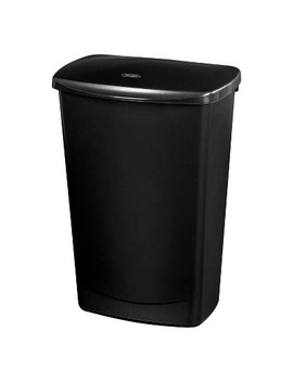11.4gal Lift Top Wastebasket Black   Room Essentials™ by Room Essentials