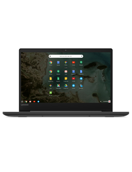 "Lenovo 81 Jw0001 Us Chromebook S330, 14"" Hd Display, Mediatek Mt8173 C Cpu 4 Gb Ram, 32 Gb E Mmc Ssd, Chrome Os, Black by Lenovo"