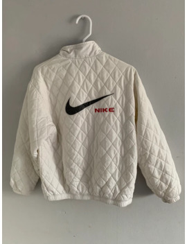 Vintage Nike Puffer Jacket Swoosh Logo by Nike  ×  Vintage  ×