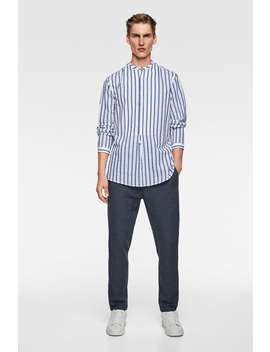 Camisa Polo Seersucker by Zara