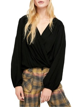Check On It Faux Wrap Top by Free People