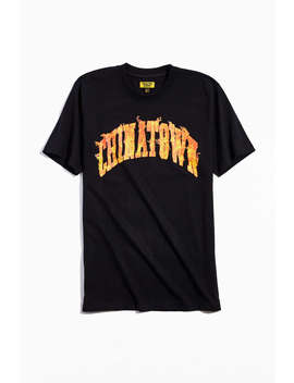 Chinatown Market Uo Exclusive Flame Arch Tee  by Chinatown Market
