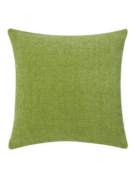 John Lewis & Partners Chenille Cushion, Moss by John Lewis & Partners