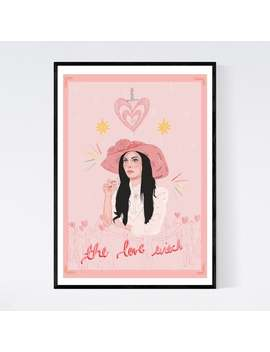 The Love Witch Print by Etsy