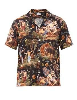 Bomantaka Aloha Printed Short Sleeve Shirt by Endless Joy