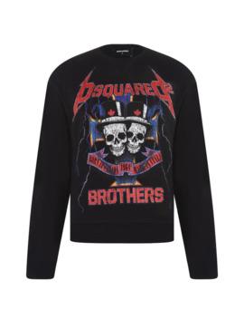 Metal Rock Sweatshirt by Dsquared2