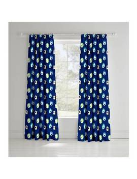 Catherine Lansfield Football Kid's Curtains   165cmx180cm621/3994 by Argos