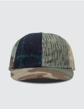 Upcycled Patchwork Cap by              Maharishi