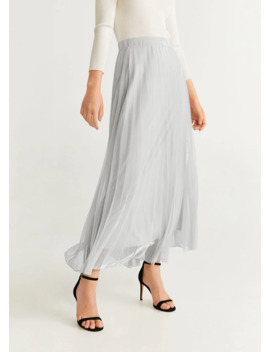"""<Font Style=""""Vertical Align: Inherit;""""><Font Style=""""Vertical Align: Inherit;"""">Pleated Midi Skirt</Font></Font> by Mango"""