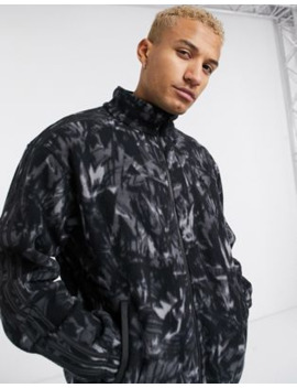 Adidas Originals Fleece Jacket With All Over Print And Reflective Details Tech Pack by Adidas Originals