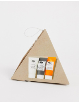 Origins Festive Favourites Best Selling Trio To Cleanse Hydrate & Detox Save 45% by Origins
