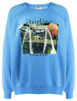 Sweater Met Print by Acne Studios