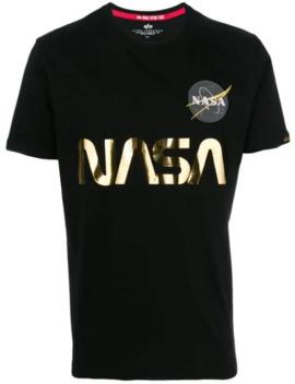 Nasa T Shirt by Alpha Industries