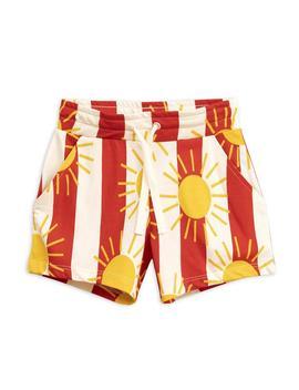 Sun Stripe Aop Shorts Red Sun Stripe Aop Shorts Red by Mini Rodini