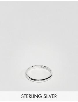 Design B  Bandring I äkta Silver Exklusivt För Asos by Design B