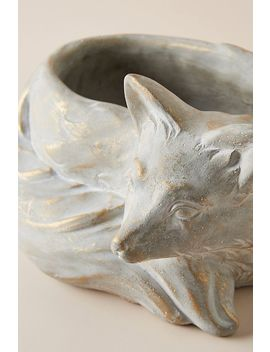 Fox Plant Pot by Anthropologie