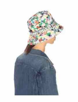 Printed Cotton Bucket Hat by Missoni Mare