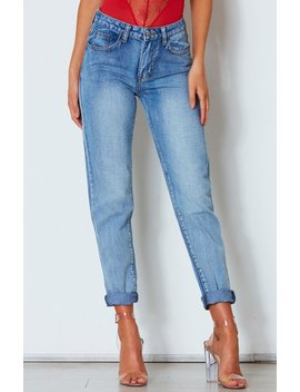 Back It Up Mum Jeans by White Fox