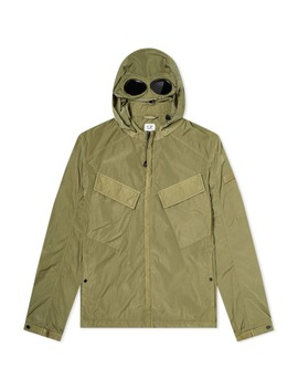 C.P. Company Hooded Goggle Zip Overshirt by C.P. Company