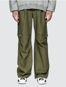 Wide Fit Cargo Pants by              Ader Error