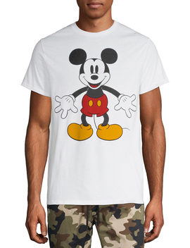 Men's Disney Original Mickey Mouse Minimal Graphic T Shirt by Mickey Mouse
