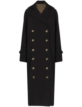 Double Breasted Trench Coat by Totême